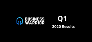 Business Warrior Q1 results image