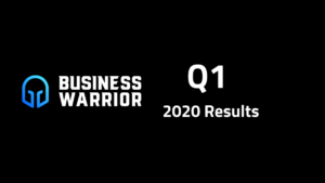 Business Warrior Q1 Financial Results