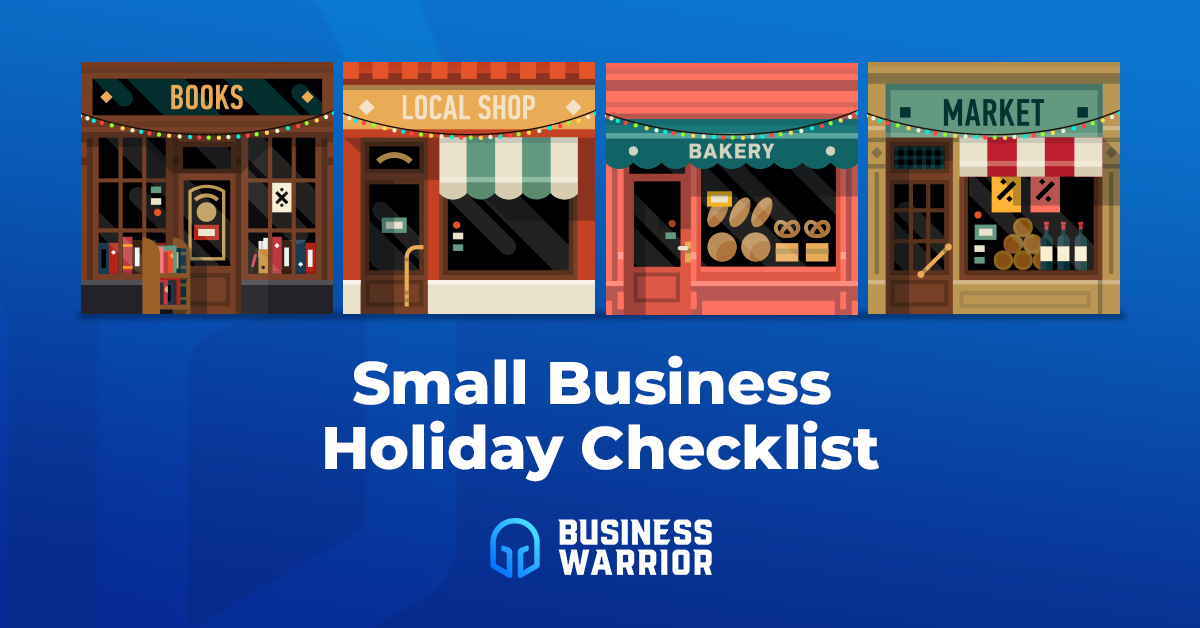 Small Business Holiday Checklist